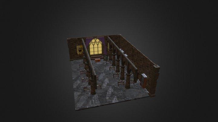 Fire Emblem: Three Houses, Golden Deer Classroom 3D Model