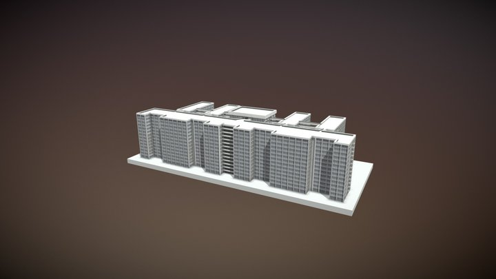 Rio de Janeiro State University (UERJ) 3D Model