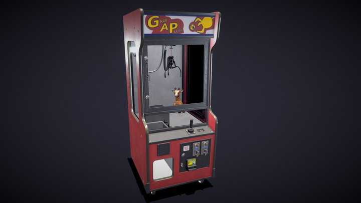 Claw Machine 3D Model