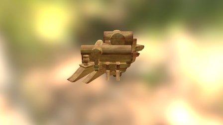 五踩角科 3D Model