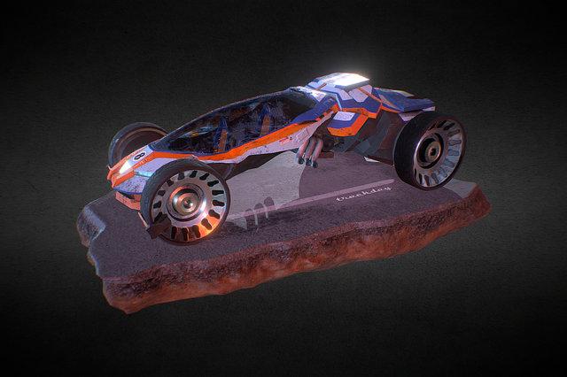 trackday 3D Model