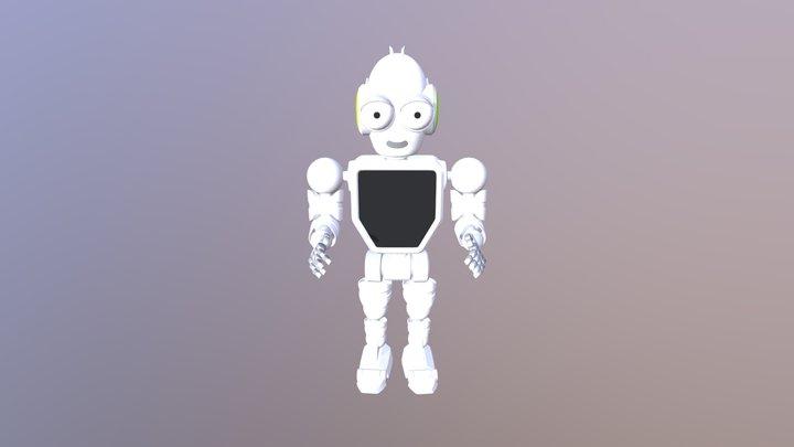 Future Robot 3D Model