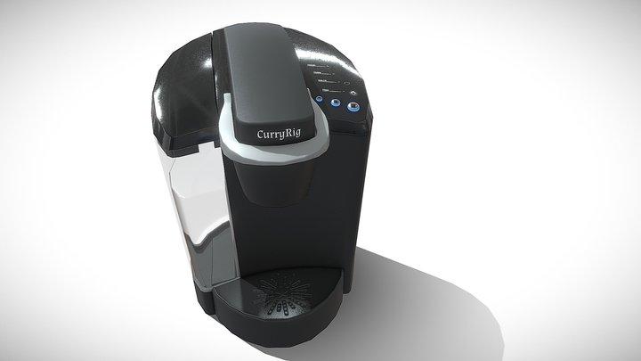 Single Cup Coffee Maker 3D Model