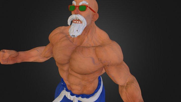 Roshi_DecimatedTest 3D Model