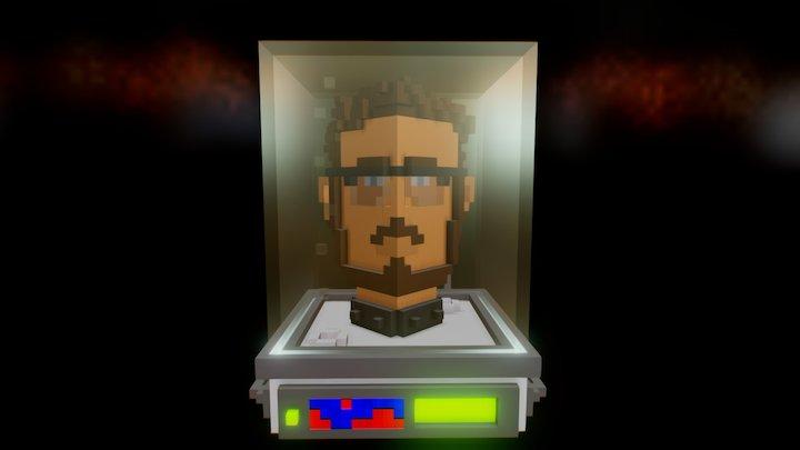 Head in a Jar 3D Model