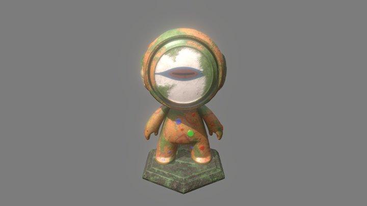 Quetzalcoatl: Keeper of Dead 3D Model