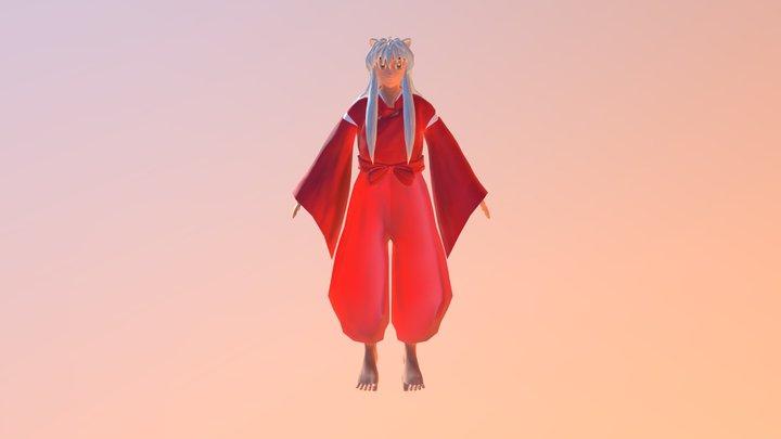Inuyasha 3D Model