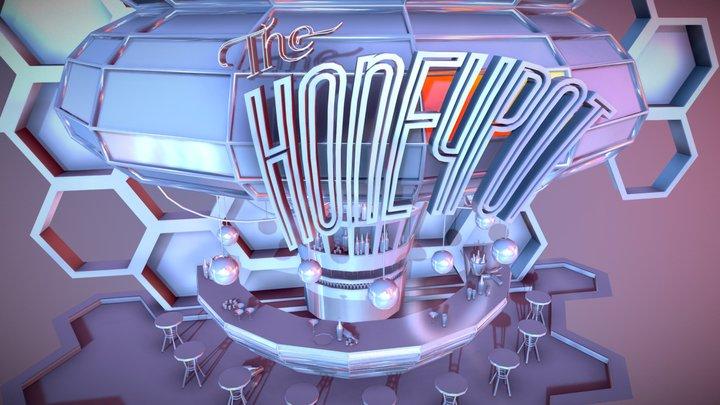 The Honeypot Bar (WIP) 3D Model