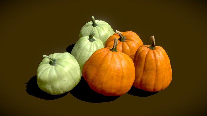 Pumpkins 3D Model
