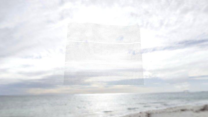 Grey ocean (Whitfords Beach) - mobile 3D Model