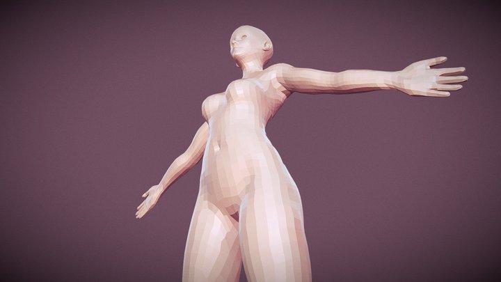 RetopoBaseMesh 3D Model