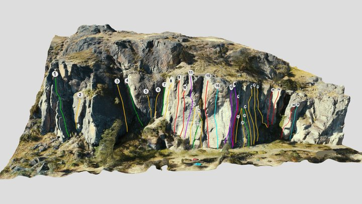 Donde la Chabela - Sector Izquierdo 3D Model