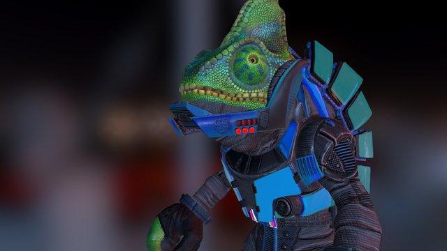 Hue Unmasked 3D Model