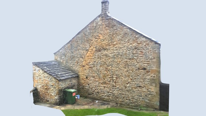 Slaidburn Gable 3D Model