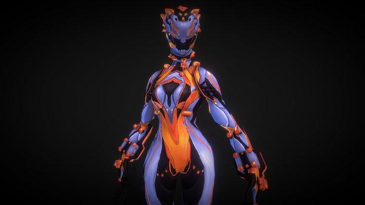 Handpainted Leonessa Valkyr 3D Model