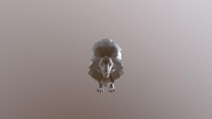 Full Rig Lion 2 3D Model