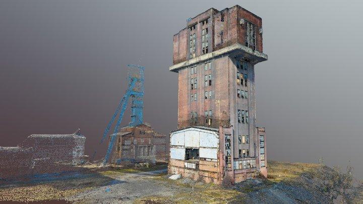 """Mine shaft """"Krystyna"""" + 360 tour + Video 3D Model"""