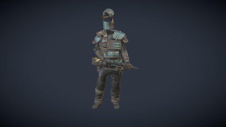 looter leader 3D Model
