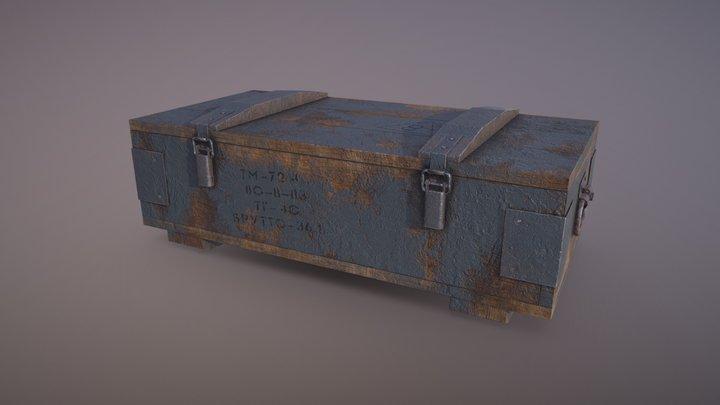 USSR War Box 3D Model