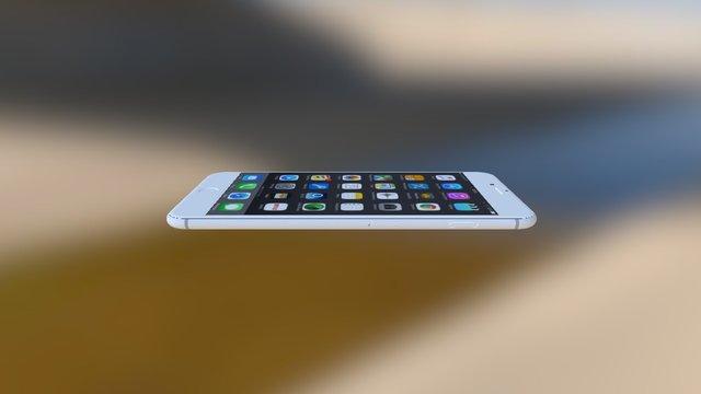Smartphone 3D Model