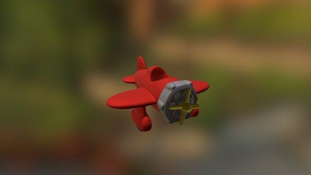 Speelgoedvliegtuigje 3D Model