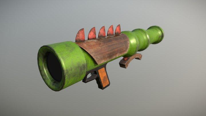 Rpg launcher 3D Model