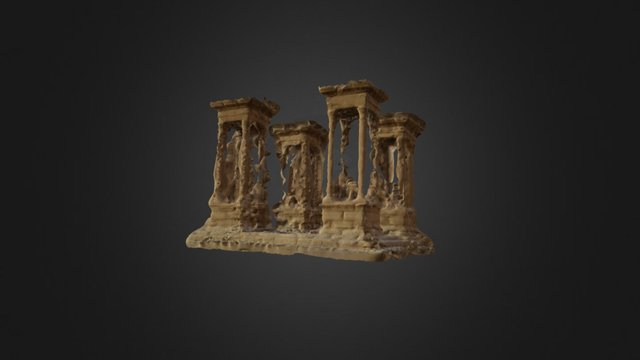 Tetrapylon Prototype 3D Model