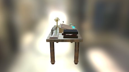 Wizard Desk 3D Model