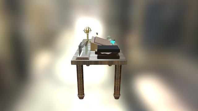 Wizard Desk 3D Model