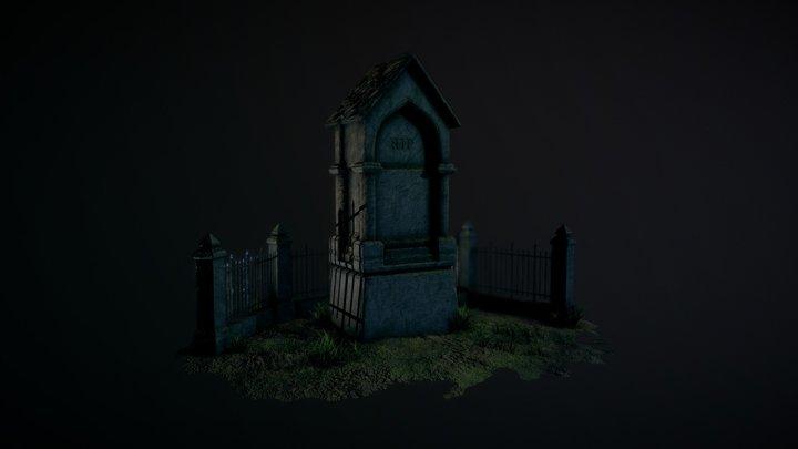 Gravestone 3D Model