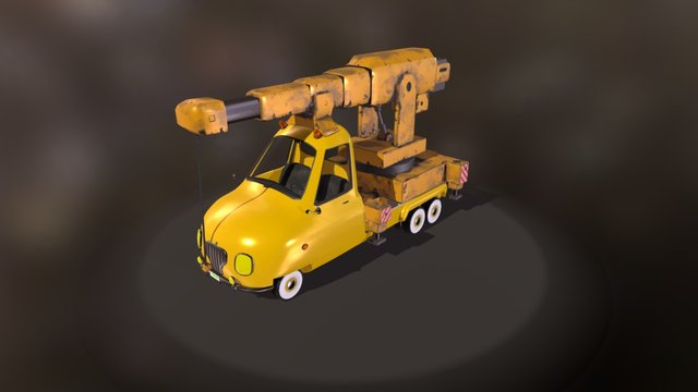 PickUp Crane 3D Model