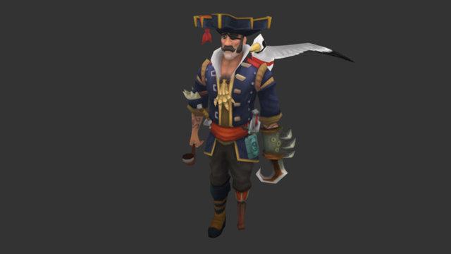 Runescape - Quartermaster Gully 3D Model