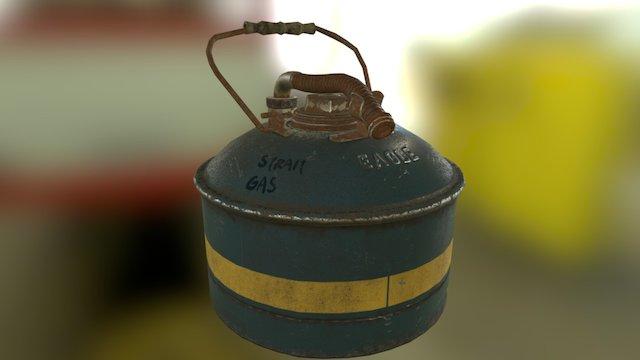 Eagle gasoline tank 3D Model
