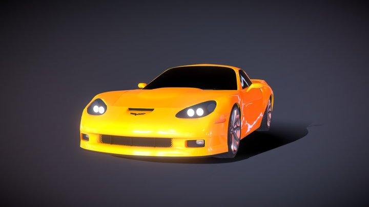 C6 Corvette 3D Model