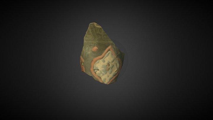 Islamic Glass Vessel Fragment (SF:369) 3D Model