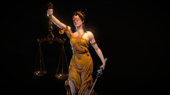 Themis in color 3D Model