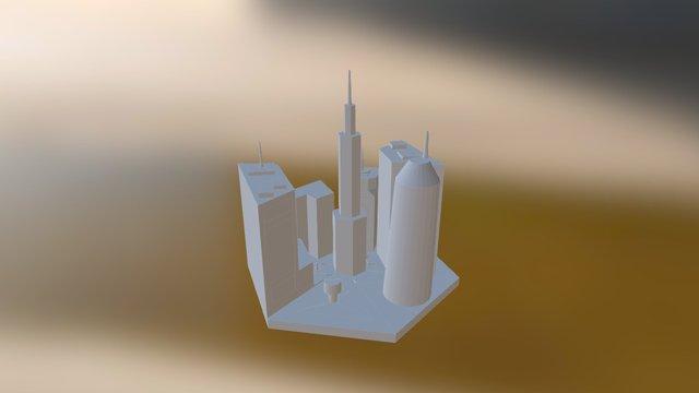City Center 3D Model