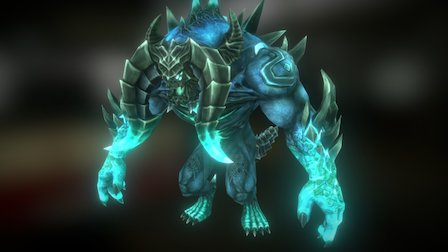Boss Monster Balok 3D Model