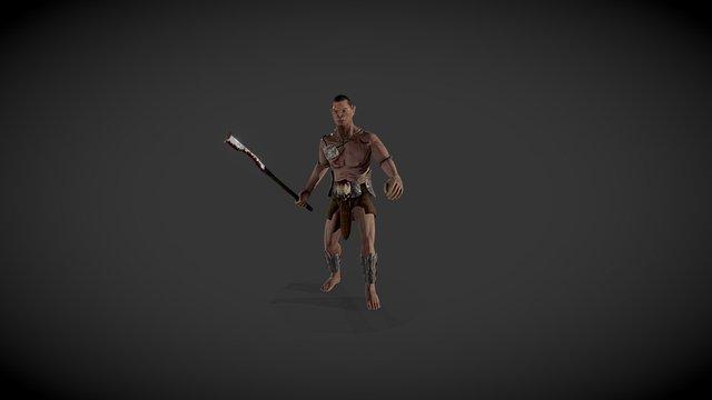 Orc@idle01 3D Model