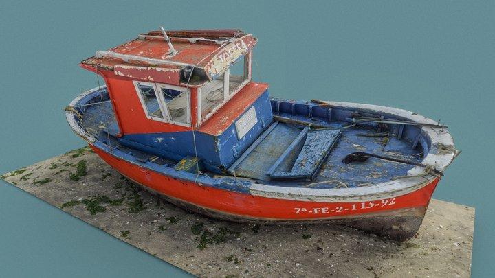 "Boat ""Josefa"" 3D Model"