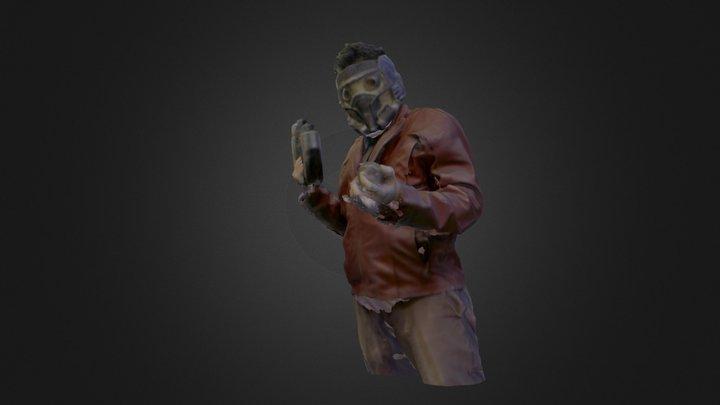 Star-lord 3D Model