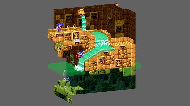 Labyrinth Zone 3D Model
