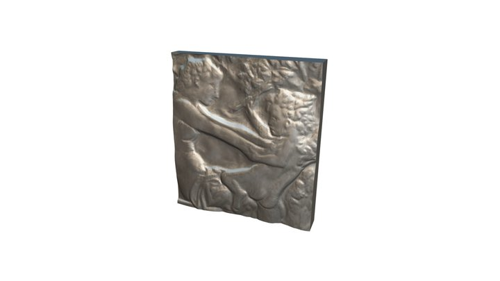 Innocence 01 - Relief Sculpture Scan - Swatch 3D Model