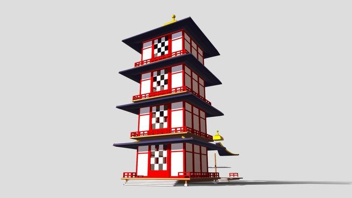Torre - Edificio 02 3D Model