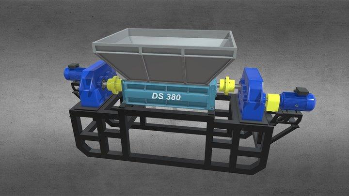Shredder DS 380 3D Model