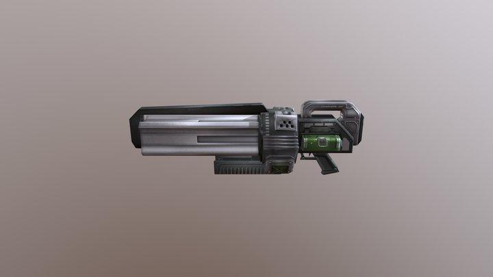 Tribes Vengeance Chaingun 3D Model