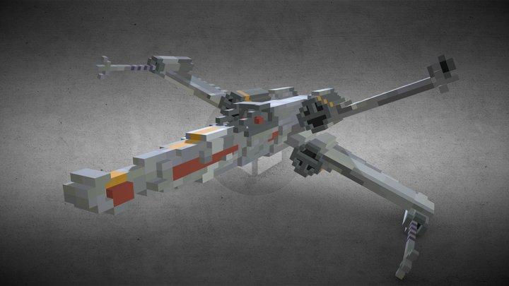 Star Wars X-Wing 3D Model