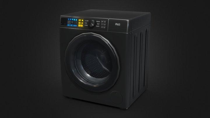 Washing Machine - Cartoony Style, The Sims 4 3D Model