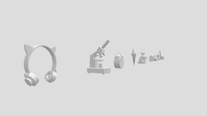 Homework for XYZ School 3D Model