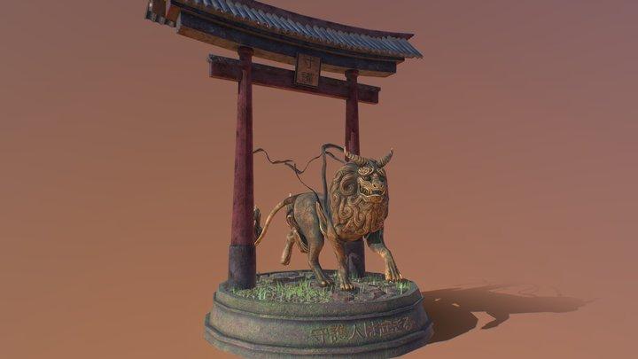 Lion Fu || Tori enviroment || ZumoArts 3D Model